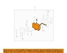 GM OEM Foglight Fog Driving Light Lamp-Housing 16513470