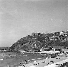 TURQUIE c. 1960 - Plage Bord de Mer  Kilyos - Négatif 6 x 6 - Tur 81