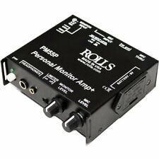 Rolls PM55 Personal Monitor Amp Battery Optio