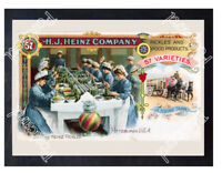 Historic Heinz Foods Ca 1885 Advertising Postcard