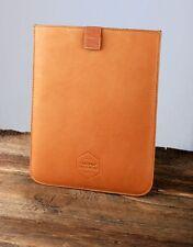 Wood Wood x Eastpak iPad Sleeve Brown Leather BNIB - Rare!