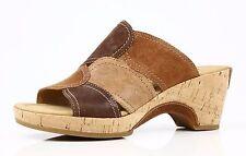 Ladies Gabor Sandals OLD Nubuk MOCCA/HOLZ/CUOIO  US SZ 4. 5,UK 2.5