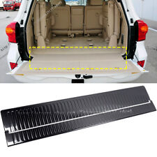 For Toyota Land Cruiser LC200 black Inner Rear Bumper Guard Plate Trim 2008-2017