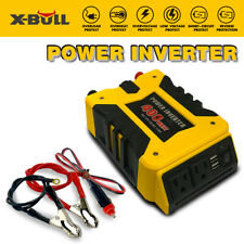 Xbull 800W Watt Power Inverter Dc 12V Ac 110V Car Converter 2 Usb ports Charger