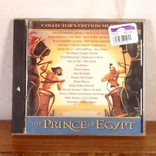 RARE Collector's Edition The Prince of Egypt OST Soundtrack CD Album 1998