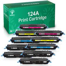 10 Q6000A 124A BLACK COLOR Toner Lot for HP Laserjet 1600 2600n 2605dn cm1017mfp