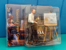 New Vincent Van Gogh Easel & Art Box Fine Arts Action Figures Collection 8 Inch