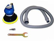 "5"" Air Palm Sander Random Orbital D A Vacuum Hose Dust Bag 9000pm Sanding Tools"