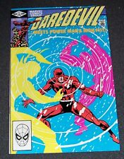 Frank Miller DAREDEVIL #178-vf/nm Elecktra, PowerMan, Iron Fist 1982