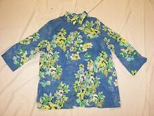 Women's Alfred Dunner Sheer Shirt - Size 18W