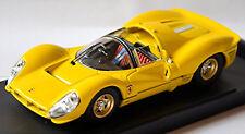 Ferrari 330 P4S Street 1967 Yellow 1:43 Bang