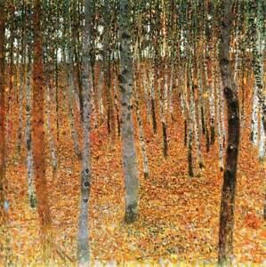 Gustav Klimt Full Drill Diamond Painting Kit Birch Forest Diamond Embroidery