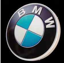 BMW LARGE LED 2FT ILLUMINATED GARAGE WALL LIGHT BADGE SIGN LOGO MAN CAVE GIFT