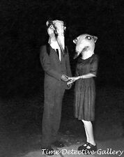Freaky Halloween Costumes - Human Weasels - Historic Photo Print
