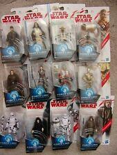 "STAR WARS FORCE LINK BS Action Figure 3 3/4"" 10cm Hasbro Yoda Rey LUKE Emperor"