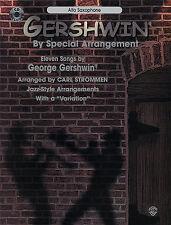 Gershwin Alto Saxophone Sax Sheet Music Book CD Learn
