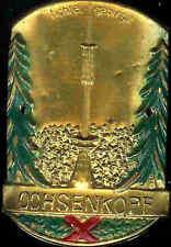 Ochsenkopf hiking medallion stocknagel mount badge Shield G1256