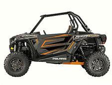 Polaris 1000 rzr Orange Graphic Kits Decal Wraps RZR 1000  Graphics utv Door