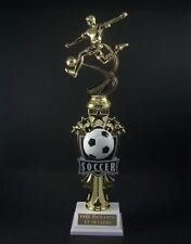 "14"" Soccer Trophy  Award  . Free engraving."