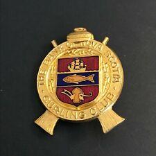 New listing VINTAGE CURLING PIN BANK OF NOVA SCOTIA CURLING CLUB (Birks written on back)
