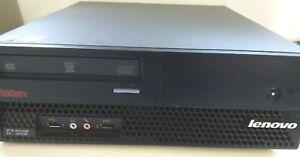 LENOVO MT-M 6072-AQ6 DUAL CORE  PC  HDD 160 GB RAM 4 GB DDR DVDRW WIN 7 PRO COA