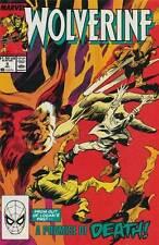 WOLVERINE #9 NEAR MINT MARVEL COMICS (1988 2nd SERIES)