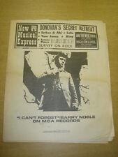 NME #1104 1968 MAR 9 BARRY NOBLE DONOVAN TOM JONES LULU LEMON PIPERS KING
