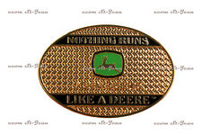 John Deere Belt Buckle Nothing Runs Like A Deere