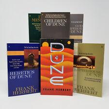 DUNE Series Original Paperback Collection Books 1-6 by Frank Herbert BRAND NEW!