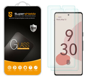 [2-Pack] Supershieldz Tempered Glass Screen Protector for Google Pixel 6