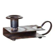 Kerzenhalter Treasure mit Streichholz-Ablage aus Metall