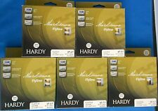 HARDY MARKSMAN FLOATING FLY LINE WF-4-5-6-7-8-F BUCKSKIN 32yds AFTM FLYLINE
