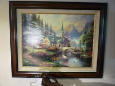 London Thomas Kinkade LE 1950 18x24 Paper NEW Giclee Authorized Dealer