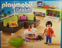 Playmobil 5584 City Life Modernes Wohnen 43-teilig Neu/Ovp