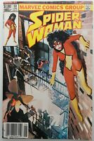 Spider-Woman 50 Newsstand VF 8.0 Last Issue Marvel Comics 1983 Spider-Man