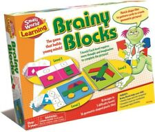 Brainy Blocks Small World Toys Learning Game to Complete Puzzles