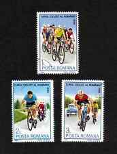 Romania 1986 Cycle Tour of Romania short set of 3 values used