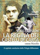 Audiolibro audiobook cd Mp3 LA REGINA DEI CASTELLI DI CARTA  Stieg Larsson usato