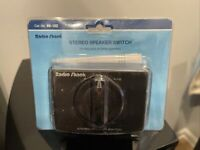Stereo Speaker Switch Cat. No. 40-132 Vintage Radio Shack Tandy