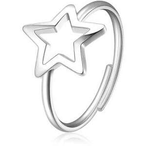 Sagapo anello donna acciaio Stella SCK91 S'agapo Misura 15 regolabile