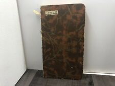 AUTHENTIC ANTIQUE DIARY YEAR 1928 PAPER IT DOES HAVE DATES FILLED IN