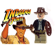 NEW INDIANA JONES  MINIFIGURE FIGURE USA SELLER FITS LEGO