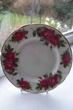 Paragon Wendy Cussons Side Plate Harry Wheatcroft Roses 16 cm Bone China British