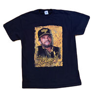Vintage Merle Haggard Men's T Shirt Size L Hag Fan Rare Country Music Graphic