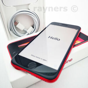 Apple iPhone SE (2nd Gen) Choose Black White Red 64GB 128GB Batt Health 100%