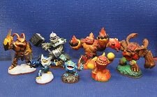 Skylanders GIANTS - Lot of 7 Different Figures - Crusher, Hot Head, Swarm & More