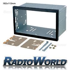 Universal Double Din Cage Fitting Kit Trim & keys 182 x 113mm Radio Headunit