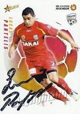 ✺Signed✺ 2008 2009 ADELAIDE UNITED A-League Card LUCAS PANTELIS