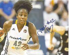Shenise Johnson Signed 8x10 Photo Indiana Fever Basketball Wnba Free Shipping