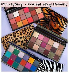 Makeup Revolution Wild Animal 18 Shade Eyeshadow Palette Orange, Rainbow, Sealed